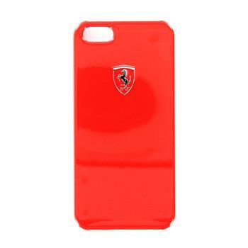 iPhone 5, 5S, SE FESIHCP5RE Ferrari Zadní Kryt Metallic Red Scuderia