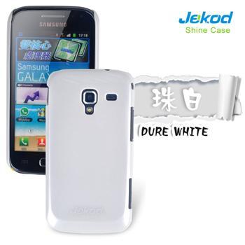 JEKOD Shiny Pouzdro Biele pro Samsung i8160 Galaxy Ace2
