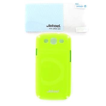 JEKOD Shiny Pouzdro Green pro Samsung Galaxy S3 (i9300/S3 i9301 Neo)