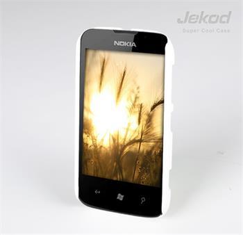 JEKOD Super Cool Pouzdro Biele pro Nokia Lumia 510
