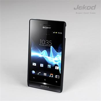 JEKOD Super Cool pouzdro Black pro Sony Xperia Miro ST23i