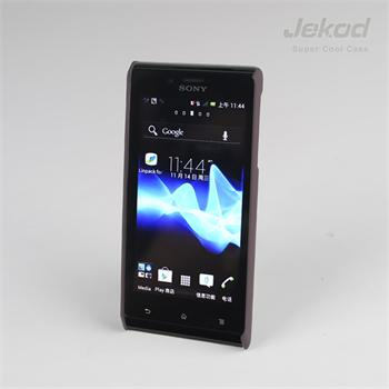 JEKOD Super Cool pouzdro Brown pro Sony Xperia J ST26i