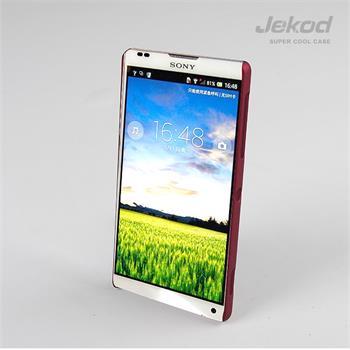 JEKOD Super Cool pouzdro Red pro Sony Xperia ZL C6503
