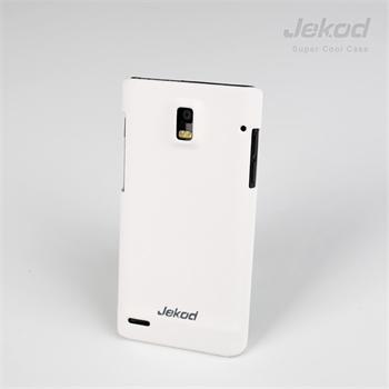 JEKOD Super Cool Pouzdro White pro Huawei Ascend P1