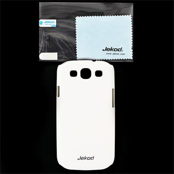 JEKOD Super Cool Pouzdro White pro Samsung Galaxy S3 (i9300/S3 i9301 Neo)