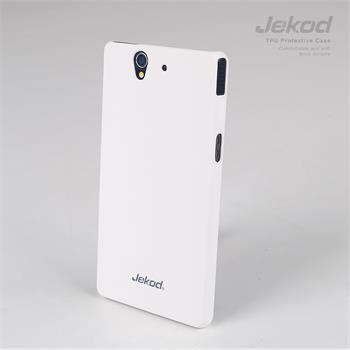 JEKOD Super Cool pouzdro White pro Sony Xperia Z L36i