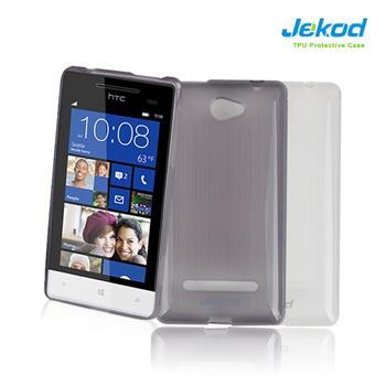 JEKOD TPU Ochranné Pouzdro Biele pro HTC 8S