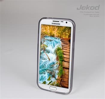 JEKOD TPU Ochranné Pouzdro Čierne pro Samsung N7100 Galaxy Note2