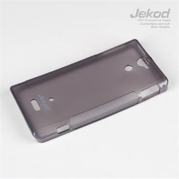 JEKOD TPU Ochranné Pouzdro Čierne pro Sony Xperia V LT25i