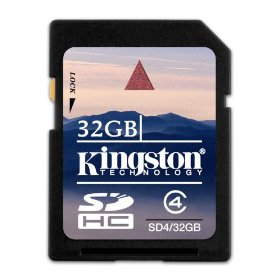 Kingston SDHC 32 GB Class 4 (SD4/32GB)