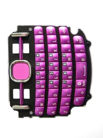 Klávesnice Nokia Asha 200/201 Pink