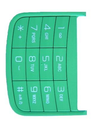 Klávesnice Numerická SonyEricsson W100i Green