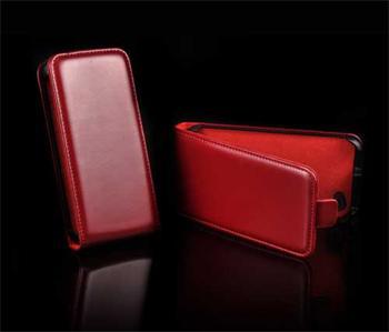 Knižkové puzdro Slim Samsung ACE 2, i8160, Čevené