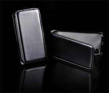 Knižkové puzdro Slim Samsung Galaxy Ace S5830, Čierne