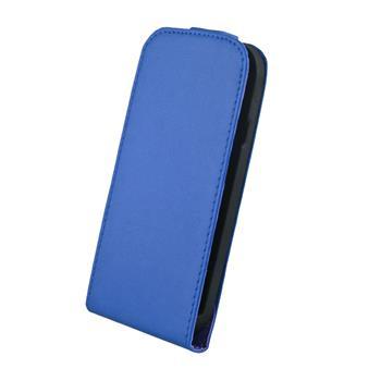 Kožené knižkové púzdro Elegance HTC Windows 8S modre
