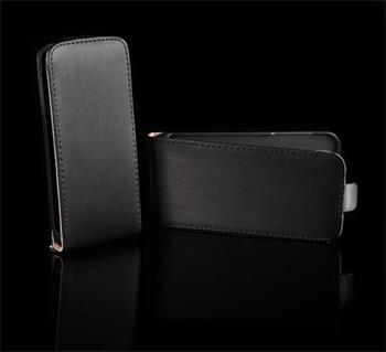 Kožené knižkové púzdro NEO slim Samsung (i9300/S3 i9301 Neo) Galaxy S3 Čierna