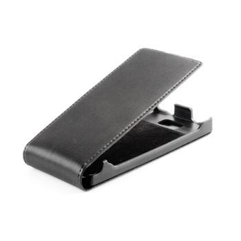 Koženkové knižkové púzdro SLIGO Premium Flip Apple iPhone 5/5S/SE Čierne