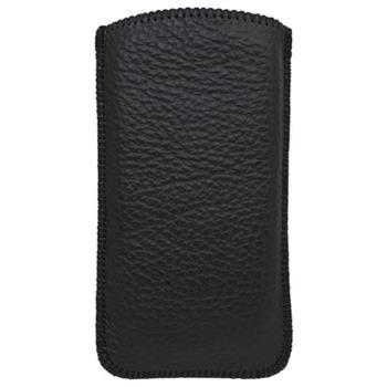 Kožený obal iPhone 5, čierny
