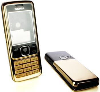 kryt Nokia 6300 Zlato čierny