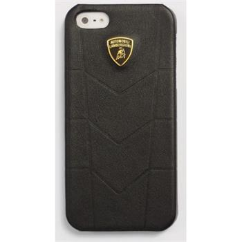 Lamborghini Avendor D1 Kožený Zadní Kryt Black pro iPhone 5, 5S