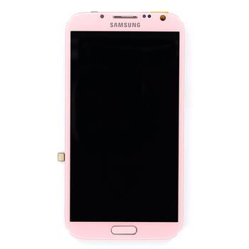 LCD display + Dotyk Samsung N7100 Note2 Pink