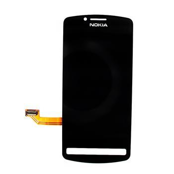 LCD Display + Dotyková Deska Black pro Nokia 700