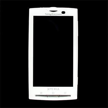 LCD Display + Dotyková Deska + Přední Kryt SonyEricsson X10 White