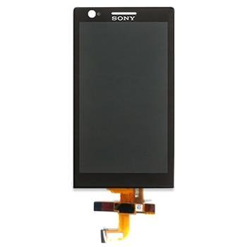 LCD Display + Dotyková Deska Sony Xperia P LT22i Black