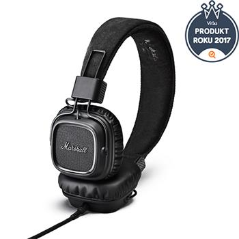 Marshall Major II Stereo Headset Pitch Black
