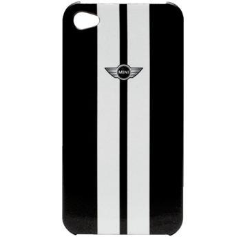 MiniCooper Zadní Kryt pro iPhone 4/4S Metalický Šedý
