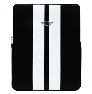 MNP2STWH MiniCooper Kožené Pouzdro White Stripes pro iPad 2, new iPad