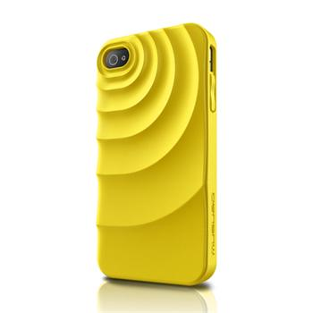 Musubo pouzdro Ripple pro Apple iPhone 4/4S Yellow (EU Blister)