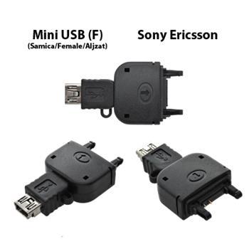 Nabíjací adaptér z Mini USB na Sony Ericsson K750i