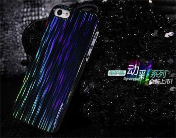 Nillkin Dynamic Colors Zadní Kryt Čierne pro iPhone 5/5S/SE