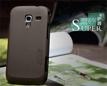 Nillkin Super Frosted Zadní Kryt Brown pro Samsung Ace2 i8160