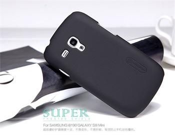 Nillkin Super Frosted Zadní Kryt Čierne pro Samsung i8190 S3mini, S3 mini i8200 VE čierny