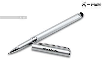 Nillkin X-Pen Stylus včetně Pera pro Kapacitní Dotyky Silver (EU Blister)