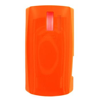 Nokia Asha 205 Orange Kryt Baterie