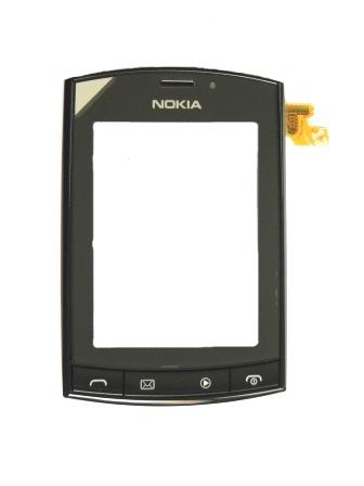 Nokia Asha 303 Přední Kryt vč. Dotyku