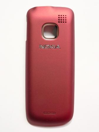 Nokia C1-01 Red Kryt Baterie