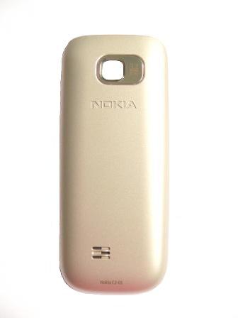 Nokia C2-01 Warm Silver Kryt Baterie