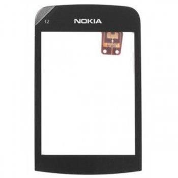 Nokia C2-02, C2-03 Dotyková Deska čierna