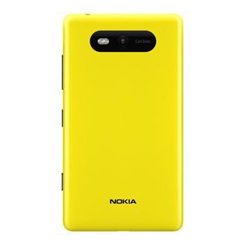 Nokia Lumia 820 Yellow Gloss Kryt Baterie