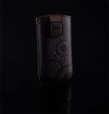 Púzdro DEKO 1 hnedé, veľkosť 11 pre telefóny Apple iPhone 3G/4G/4S/ Nokia N8/800/200/302/ Samsung S5330/S5830