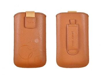 Púzdro DEKO 1 slabo hnedá, veľkosť 07 pre telefóny LG KP500/Sam S5230/HTC Wildfire/Wildfire S/Desire C/Sony Xperia Tipo