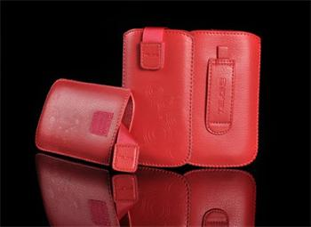 Púzdro DEKO 2, Červená, LG KU990/Sam B3410/S5570/S6500/S5380/SE Hazel/X8/LG L3