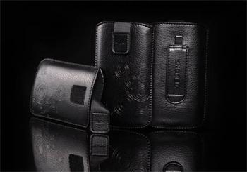 PUZDRO DEKO 2, Čierna, LG BL20/ KP500/Sam S5230/S5360/HTC Wildfire/Wildfire S/Desire C/SE WT19i/Son ST21i