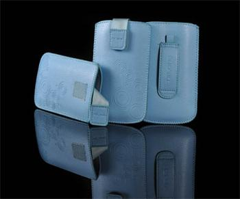 Puzdro DEKO 2, Svetlo Modrá, LG KU990/Sam B3410/S5570/S6500/S5380/SE Hazel/X8/LG L3