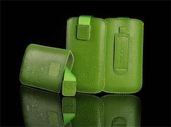 PUZDRO DEKO 2, Svetlo Zelená, HTC HD2/Sensation/ONE V/ Sam i9000/i9100/S8530/S8600/i9070/S7530