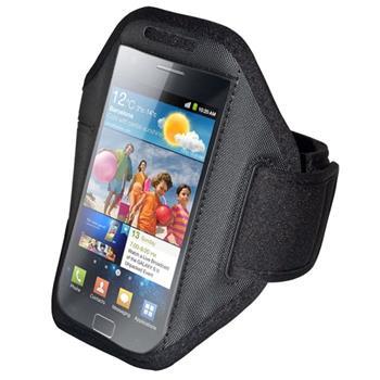 Puzdro iPhone 5/5s športové na rameno - čierne